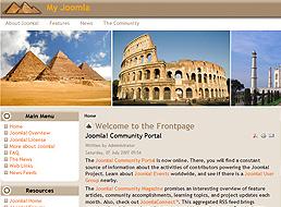 Ancient Wonders Joomla Template