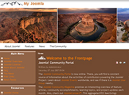 Natural Wonders Joomla Template