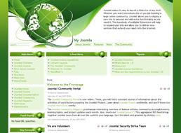 Environmental Theme Joomla 1.5 template