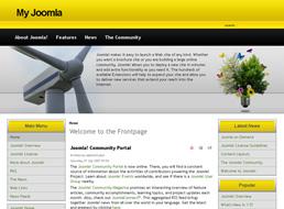 Green Energy Joomla 1.5 template