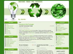 Green Ideas Joomla 1.5 template
