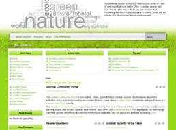 Nature Issues Joomla 1.5 template