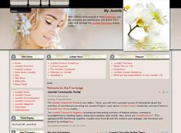 Spring Beauty Joomla 1.5 template