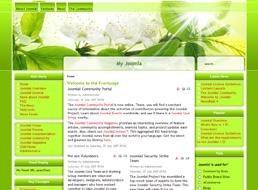 Spring Flowers Joomla 1.5 template