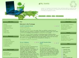 Think Green Joomla 1.5 template
