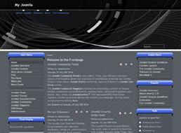 Abstract Technology Joomla 1.5 template