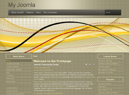 Business Abstracts Joomla 1.5 template