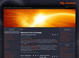 Orange Planet Joomla 1.5 template