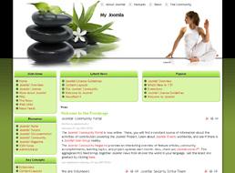 Relaxation Joomla template