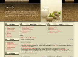 SPA Therapy Joomla template