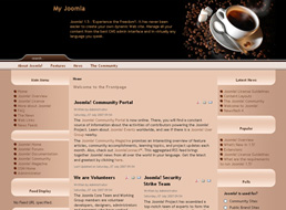 Coffee Break Joomla template