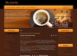 Coffee Time Joomla template