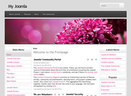 Dahlia Fashion Joomla template