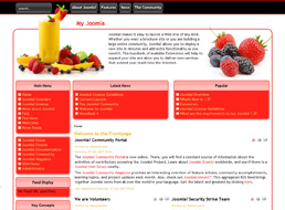 Fresh Start Joomla template