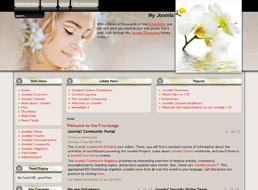Spring Beauty Joomla template